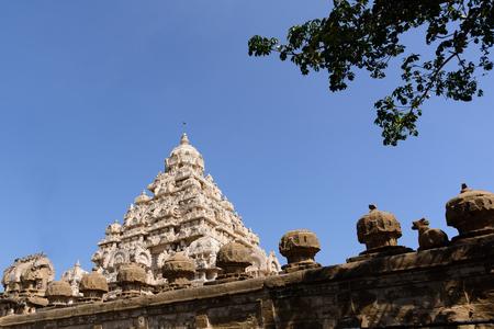 tamil nadu: Hindu temple in Kanchipuram, Tamil Nadu, India, Asia Stock Photo