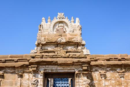 tamil nadu: Hindu temple entrance India, Kanchipuram, Tamil Nadu, India, Asia