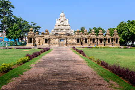 tamil nadu: Old Hindu temple, Tamil Nadu, India