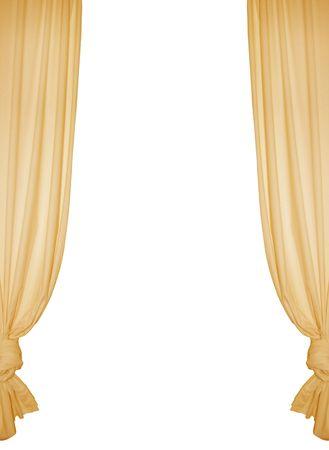 Isolated curtain Stock Photo