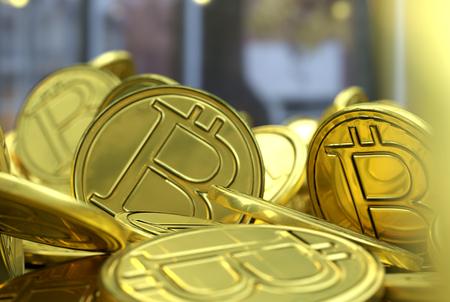 resplandor: Golden Bitcoins. New virtual money.