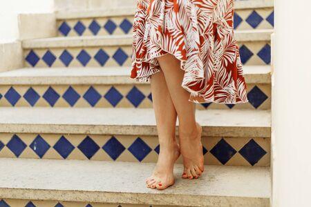 Beauty woman legs
