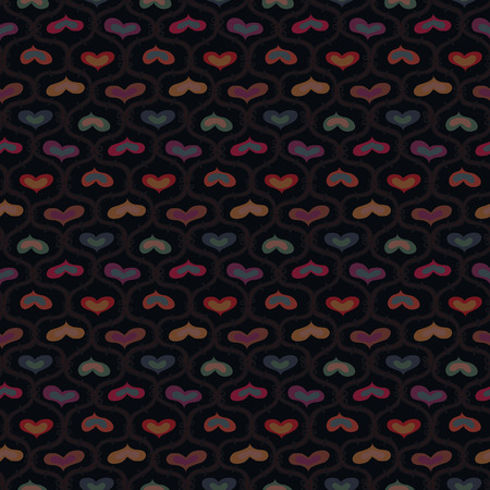 randomness: Seamless pattern for wrapping paper with hearts