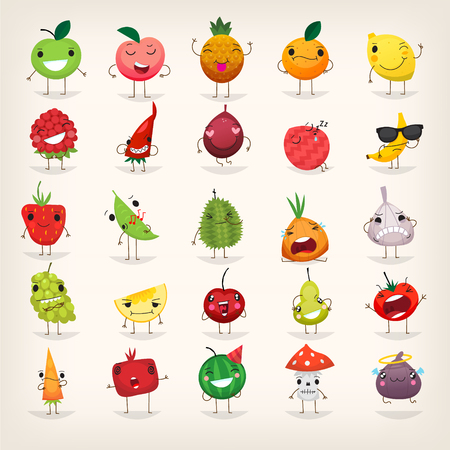 Fruit and vegetables emoji