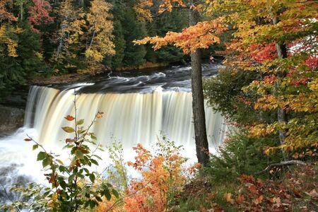 Upper tahquamenon water falls Stock Photo - 1201434