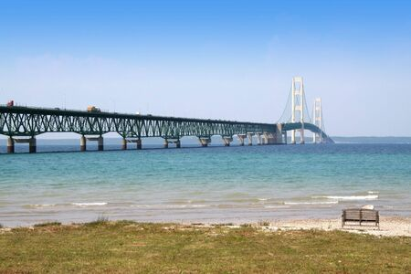 HISTORIC MACKINAC BRIDGE Stock Photo - 1254618