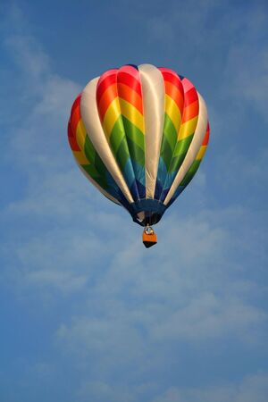 unrestricted: Hot Air Balloon Stock Photo