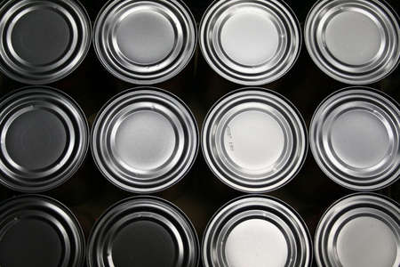 Freshly Produced Food Cans Stock Photo - 1312227