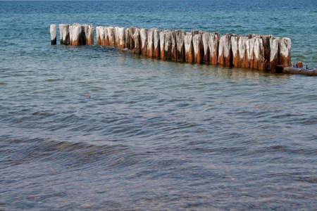 beautiful lake shore in lake michigan Stock Photo - 1364825