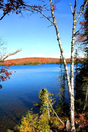 Beautiful lake Superior shore line in Michigan upper peninsula Stock Photo - 1544287
