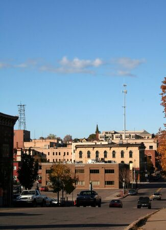 marquette: Historic buildings in downtown Marquette