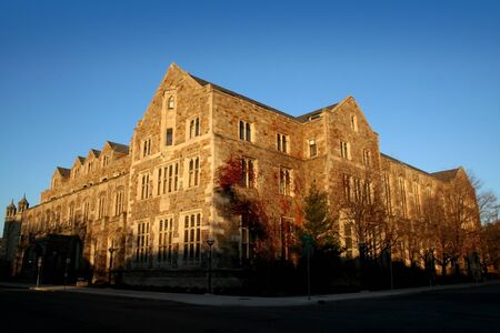 historic building in university of michigan campus ann arbor