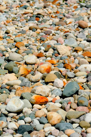 pebles: Many colorful stones Image is good for background Stock Photo