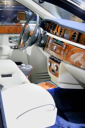 legroom: Luxurious Interiors Stock Photo