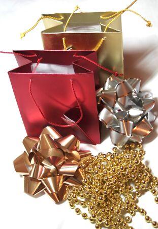 Kerst mis, Nieuwjaar en verjaardags partij wensen  Stockfoto