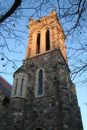 arbor: historic tower in university of michigan campus ann arbor