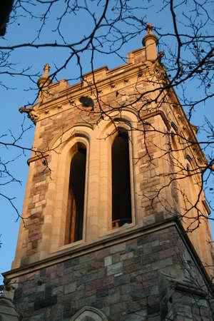 historic tower in university of michigan campus ann arbor photo