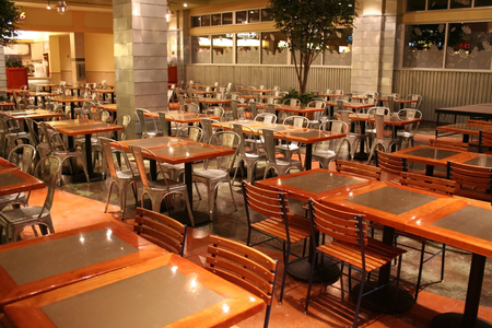 food court: Food Court In A Mall