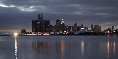 Buildings In Detroit Downtown