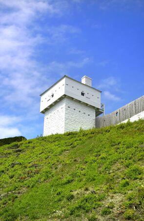 mackinac: Old Mackinac fort