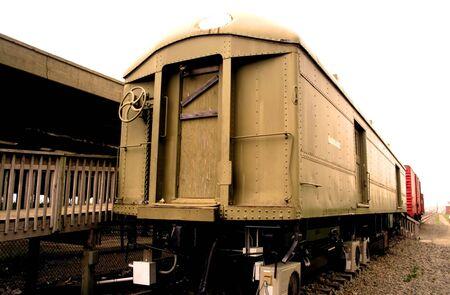 Abteile: Alte Train-Depots Lizenzfreie Bilder