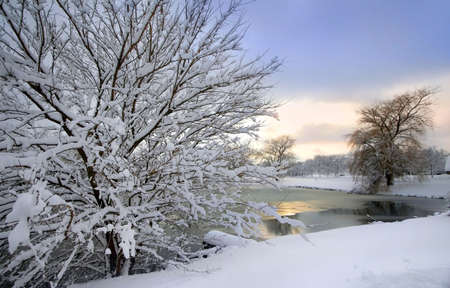 Scenic Winter Landscape Stock Photo - 2316484
