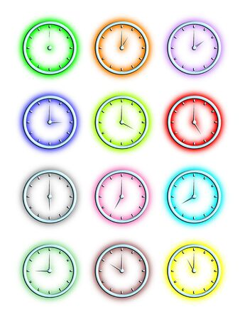 time zone: Time Illustration