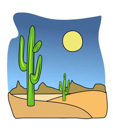 Cactus Illustration illustration