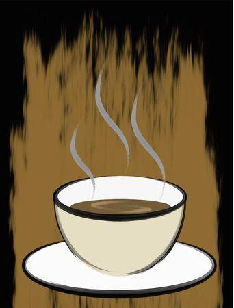 Koffie Penseelvoering Kunst