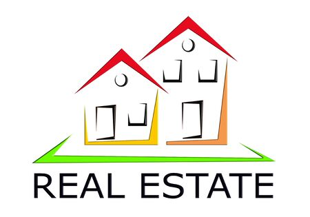 simple logo: Real Estate Icon