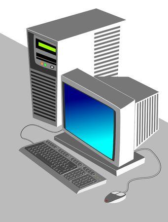 Illustration of workstation
