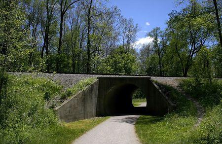 exersice: Walk Way Through Tunnel