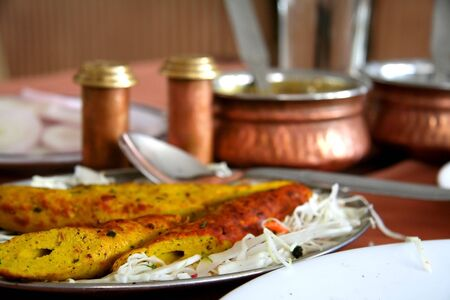 Chicken Biryani And Kebabs