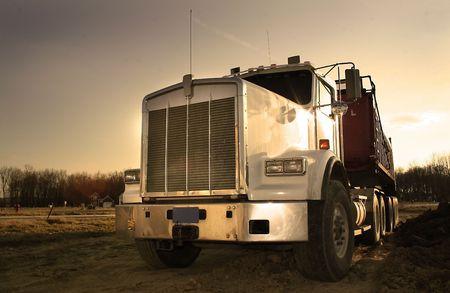 Huge Semi Truck photo