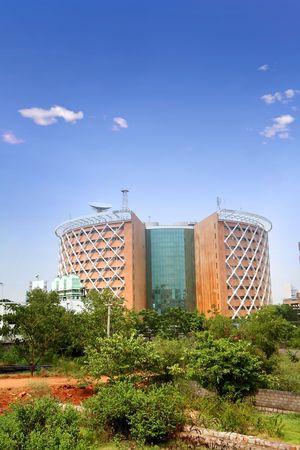 hitech: Hi-Tech City Stock Photo