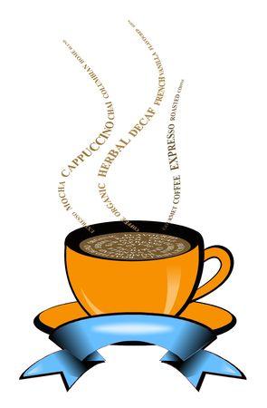 chai: Hot Coffee Stock Photo