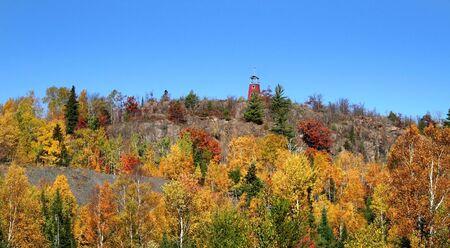 Michigan Fall Landscape Stock Photo - 3643126