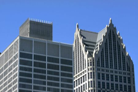 wideview: Detroit Skyscrapers