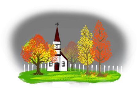 Autumn Illustration Stock Illustration - 3676917