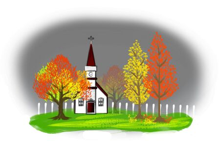 Autumn Illustration Stock Illustration - 3676917
