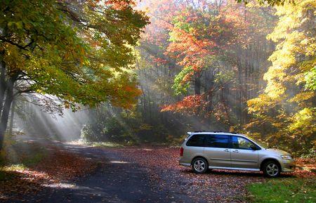Herbst-Szene Standard-Bild - 3806028