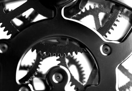 shiny black: Clock Mechanism