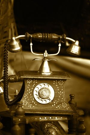 Antique Phone Banque d'images - 4001330