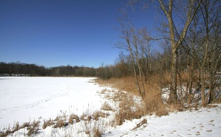 Frozen Lake Stock Photo - 4001337