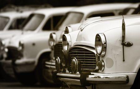 car model: Classic Cars Stock Photo