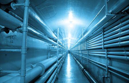 industrial: Underground Tunnel