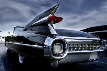Tail Lamp Of A Classic Car