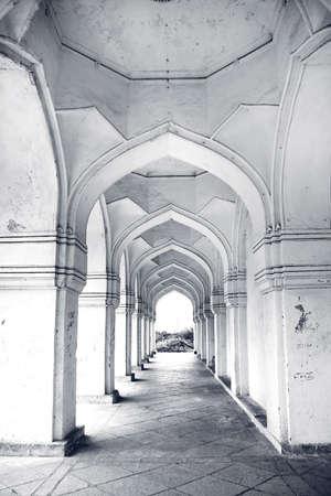 golconda: Historic Quli Qutb Shahi tombs in Hyderabad India