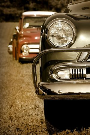 Classic Cars Stock Photo - 4725855