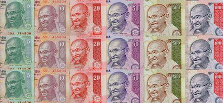 gandhi: Indian Currency